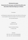 Wolter, Heidrun: Kinderzeichnungen. Empirische Forschungen und Interkulturalität unter besonderer Berücksichtigung von Ghana